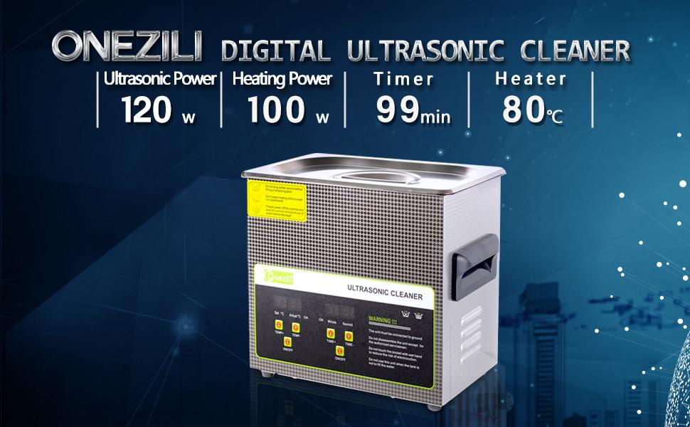 onezili ultrasonic cleaner 3L