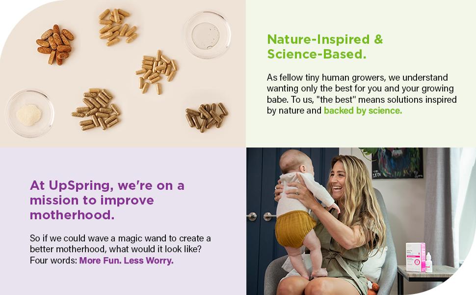 Motherhoods, Products, UpSpring, Nature-Inspired, Science-Based
