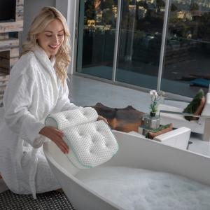 Azmodi Bath Pillow Tub Luxury Products Pillows Jacuzzi Bathtub Gifts Bathing Accessories Gift Women