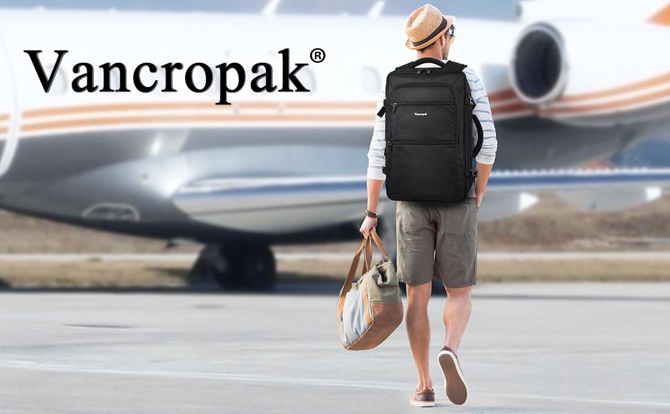 Vancropak Carry on backpack