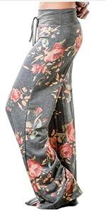 floral women lounge pants