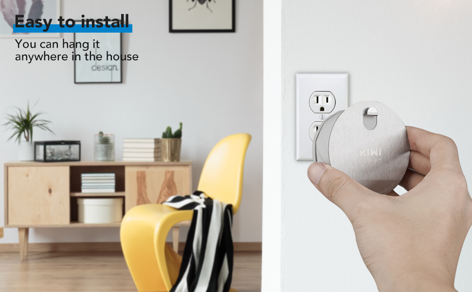 Adhesive Metal Hook for Nest Mini by Google