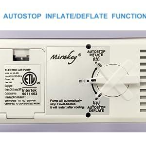 AUTO INFLATE/DEFLATE PUMP