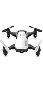 Flashandfocus.com 8034293e-5674-47bb-94eb-c38a48480fc3.__CR0,0,150,300_PT0_SX150_V1___ SIMREX X300C Mini Drone RC Quadcopter Foldable Altitude Hold Headless RTF 360 Degree FPV Video WiFi 720P HD Camera 6…