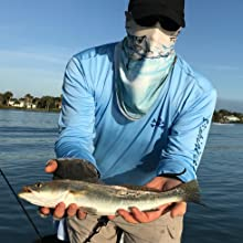 upf 50+ sun protection uv spf long sleeve men fishing t-shirt performance breathable seatrout