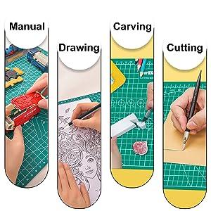 leather cutting board