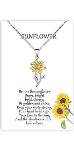 sunflower jewerly