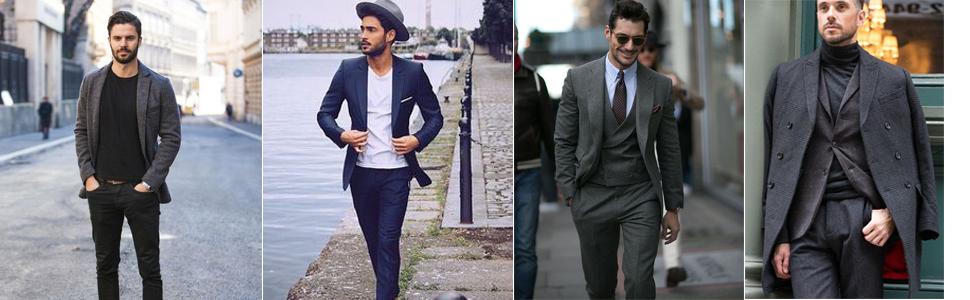 Men's Casual Sports Coats Dress Blazer Stylish Lightweight Suit Jackets