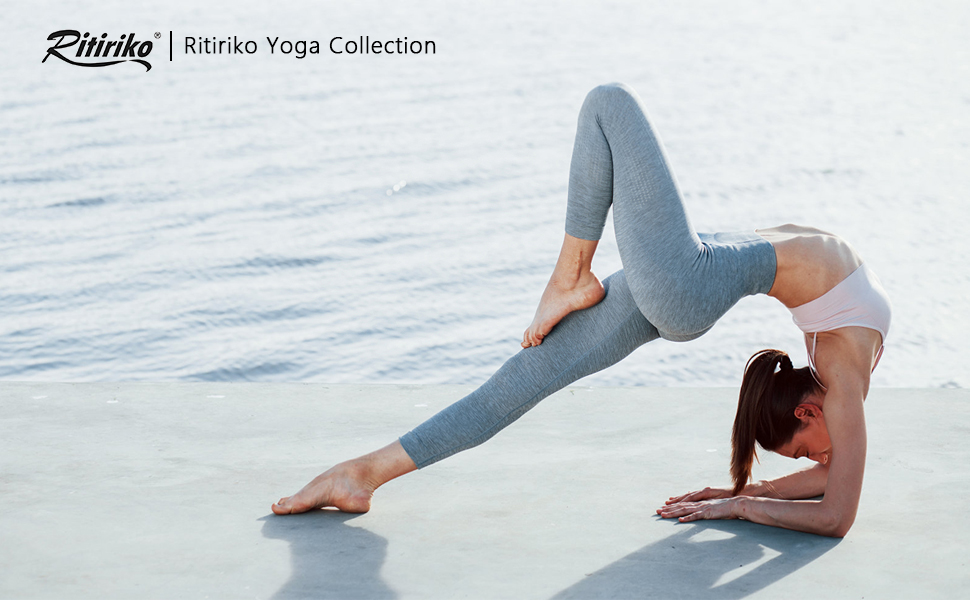 Ritiriko Joggers for women sweatpants high waist yoga capri pants with pockets for women