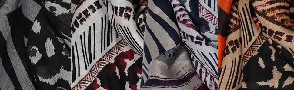 Tuch f/ür Frauen Damen M/ädchen Halstuch und Chiffon-Stola Mit Fransen Zwillingsherz Damenschal im trendigem Design Hochwertiger Freizeitschal Eleganter Sommerschal Fr/ühjahr Sommer Herbst