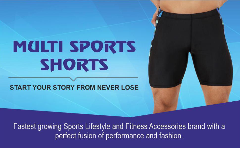 NEVER LOSE Cycling Shorts Tights