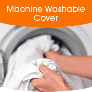 Easy Care, Machine Washable Cover
