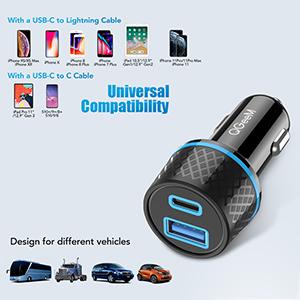 usbc car charger