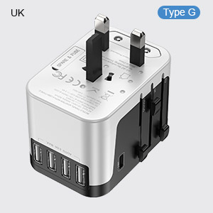 UK european travel adapter