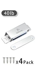 Magnetic Door Latch