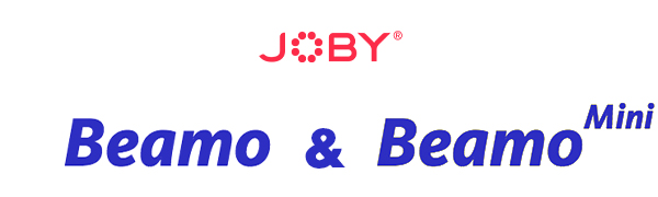 for Vlogging Waterproof Bluetooth JOBY Beamo LED Light for Smartphone and Mirrorless Camera Compact Photo and Video Content Creation Wireless Charging