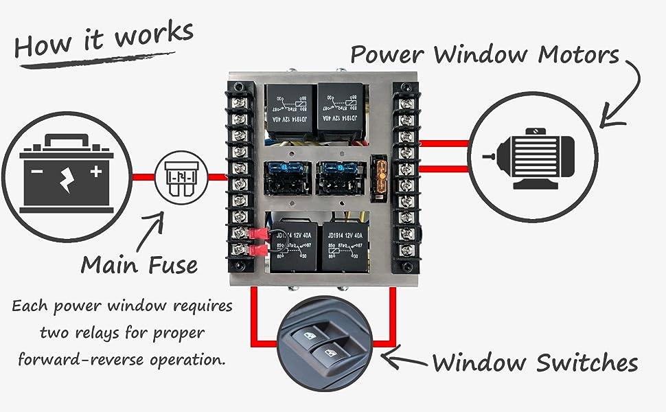 wiring diagram relay box