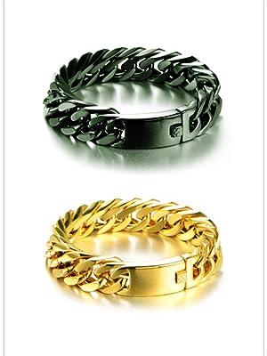 stainless steel bracelets for men