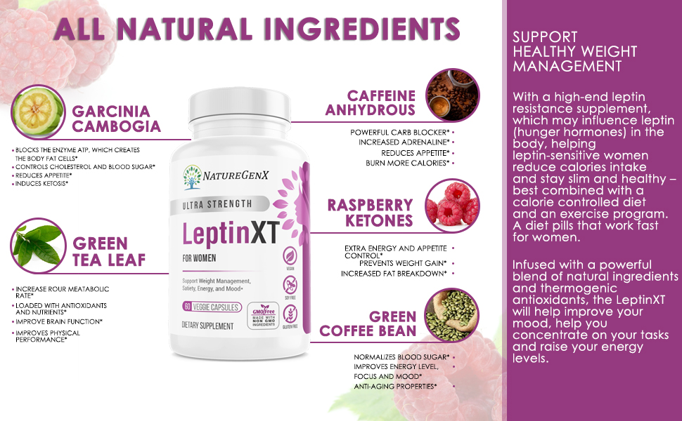 all Natural Leptin Burn for women that work fast