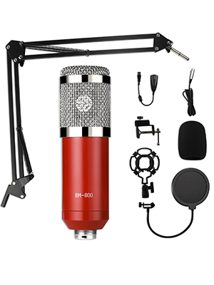 Condenser Microphone Bundle Kit