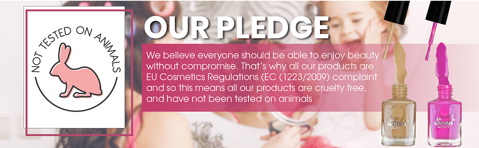 EU Compliant, and PETA Certified as Cruelty Free, Not Tested on Animals Paraben Free