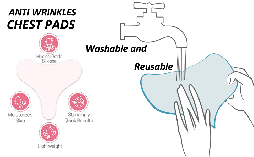 wrinkle reducing pads - how to wash