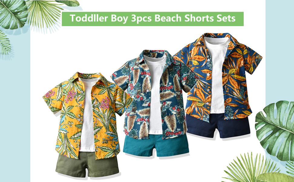 Baby Boy Shorts Sets