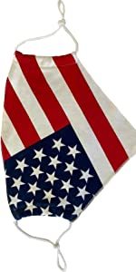 auline collection usa flag face mask