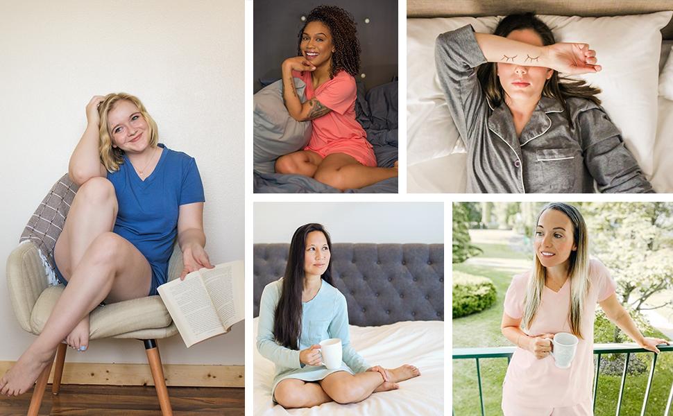 fishers finery ecofabric pajamas nightgowns