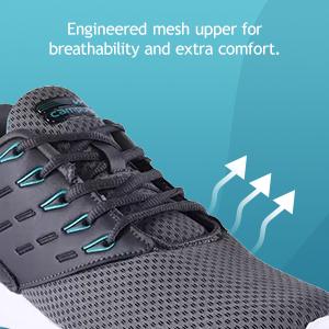 Engineered Mesh Upper For Breathibility