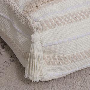 square floor pouf for living room large pouffe ottoman floor foot rest footstool kids room bedroom