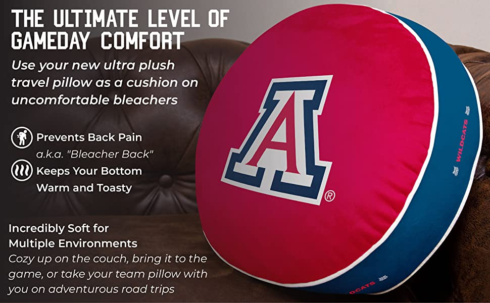 The Ultimate Level Of Gameday Comfort. Prevents back pain. Keeps your bottom warm and toasty.