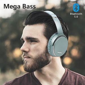1  Noise Cancelling Headphones Wireless Bluetooth 5.0,Fast Charge Over-Ear Lightweight Srhythm NC35 Headset with Microphones,Mega Bass 40+ Hours' Playtime -Low Latency 8079e8ec f111 4284 8f49 2e5068077a2e