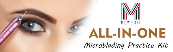 Microblading Practice Kit with Skin