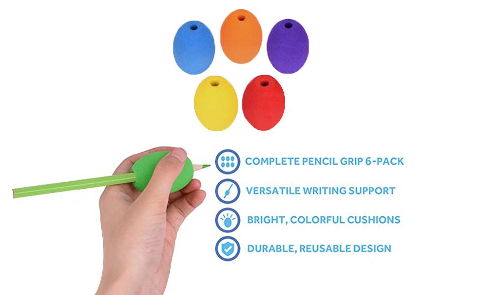 Egg Shaped Pencil Holders