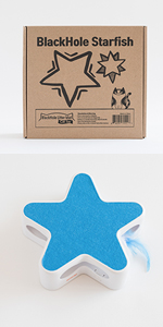 Starfish Hide & Seek Feather Catcher Toy product photo