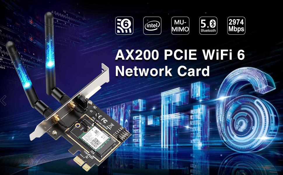WiFi 6 card