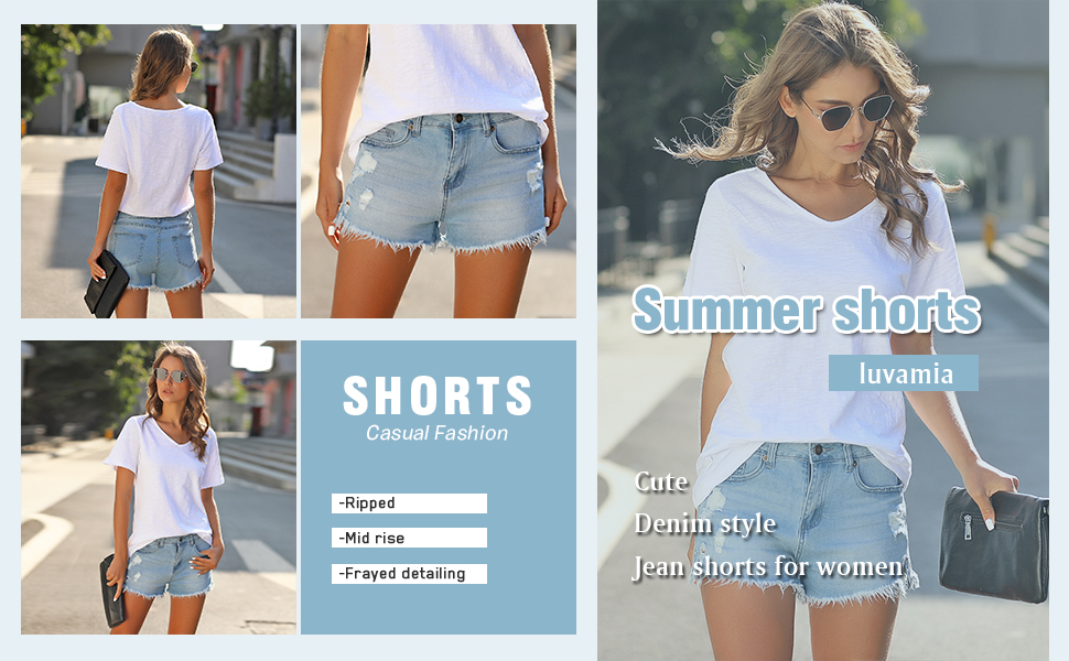 denim shorts for women jean shorts for women 2020 casual summer fashion cute shorts for teen girls