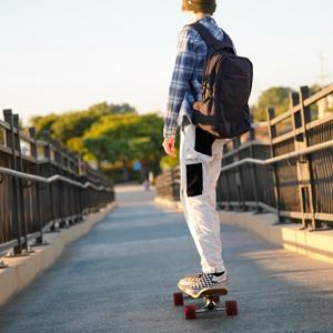 Magneto longboard skateboards longboarding skate board kicktail cruiser bamboo beginners