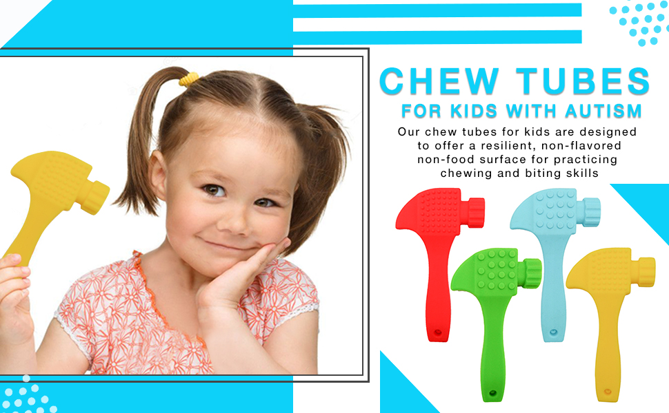chew tubes for kids