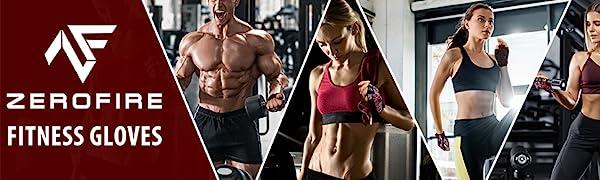 ZEROFIRE RYMNT Workout Gloves for Women Man