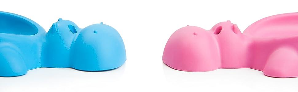 keyorama Hippo Soft Seifenschale blau