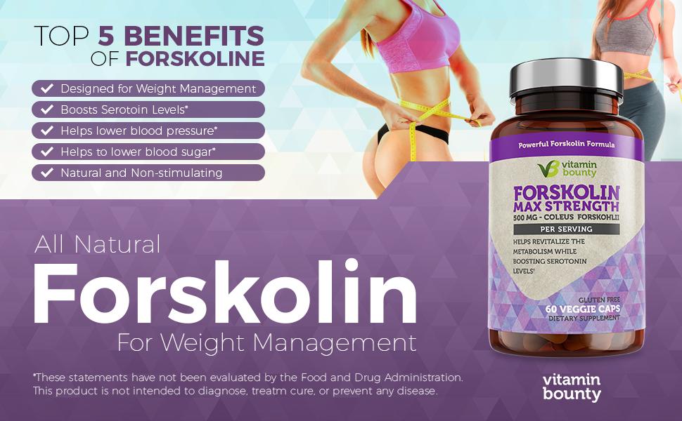 Vitamin Bounty Forskolin Top 5 Benefits