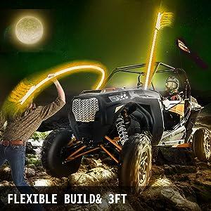 Flexible Build & 3FT