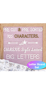 baby announcement board with letters