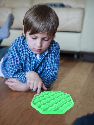 push pop bubble sensory fidget toy relax helper 6 sides