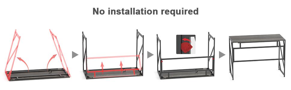 No installation required