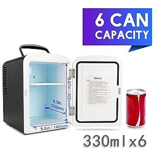 mini fridge easy to carry