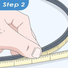 easure Serpentine Belt Length