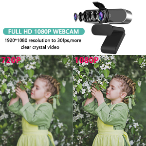 Flashandfocus.com 80a128b1-d9b1-46b2-9e7c-bc73e19e3ad8.__CR0,0,300,300_PT0_SX300_V1___ Webcam with Microphone Computer Camera,1080P Webcam for Desktop, USB Plug and Play HD Web Camera with Privacy Cover for…